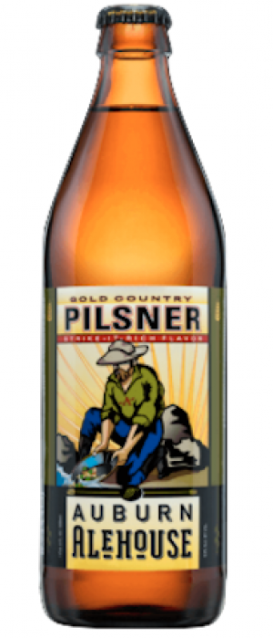 Gold Country Pilsner by Auburn Alehouse in California, United States