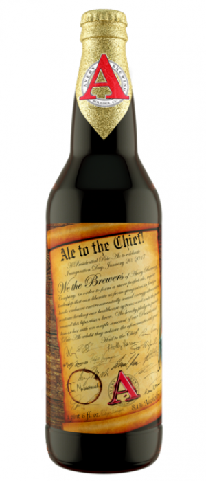 Ale to the Chief by Avery Brewing Company in Colorado, United States