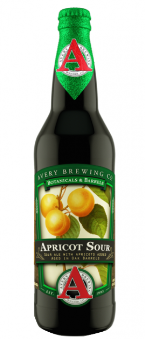 Apricot Sour by Avery Brewing Company in Colorado, United States