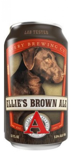 Ellie's Brown Ale by Avery Brewing Company in Colorado, United States