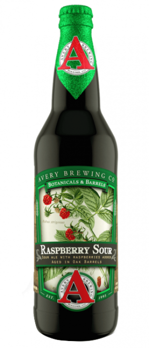 Raspberry Sour by Avery Brewing Company in Colorado, United States
