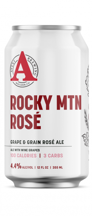 Rocky Mountain Rosé by Avery Brewing Company in Colorado, United States