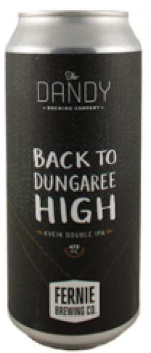 Back to Dungaree High: Kveik Double IPA by The Dandy Brewing Company in Alberta, Canada