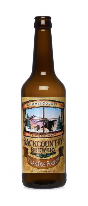 Peak One Porter by Backcountry Brewery in Colorado, United States