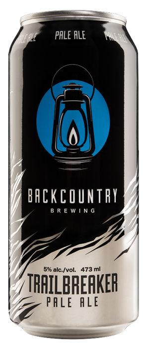 Trailbreaker Pale Ale by Backcountry Brewing in British Columbia, Canada