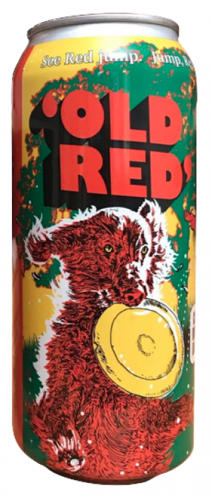 'Old Red' Ale by Bad Dog Brewing Company in British Columbia, Canada