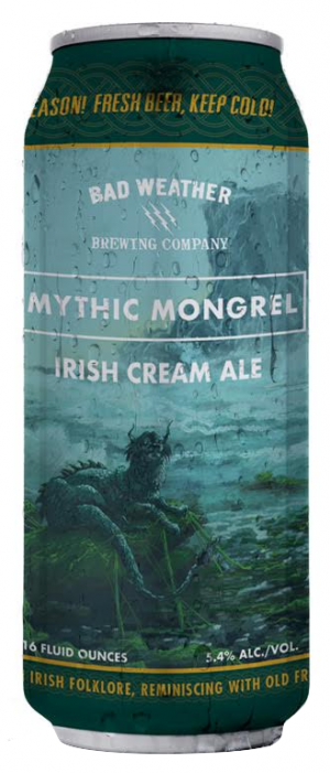 Mythic Mongrel by Bad Weather Brewing Company in Minnesota, United States