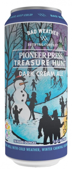 Pioneer Press Treasure Hunt by Bad Weather Brewing Company in Minnesota, United States