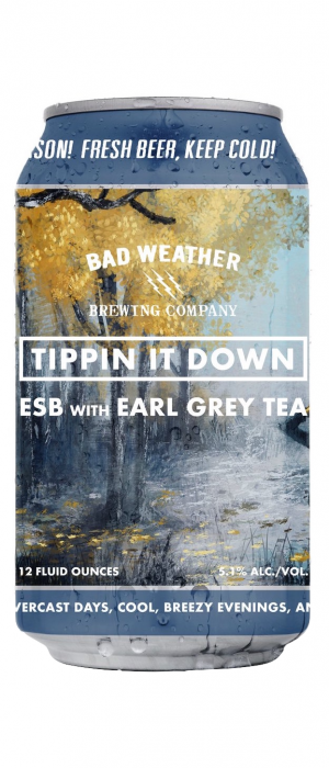 Tippin' It Down by Bad Weather Brewing Company in Minnesota, United States