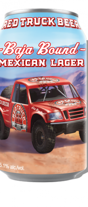 Baja Bound Mexican Lager by Red Truck Beer Company in British Columbia, Canada