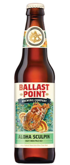 Aloha Sculpin by Ballast Point Brewing Company in California, United States