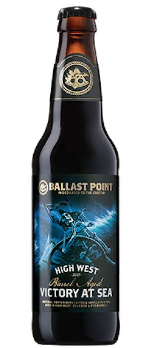 High West Barrel Aged Victory At Sea by Ballast Point Brewing Company in California, United States