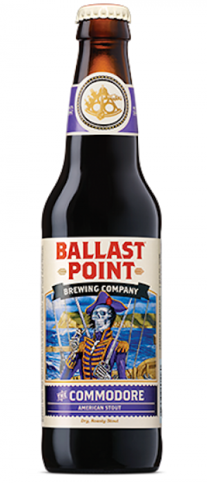 The Commodore by Ballast Point Brewing Company in California, United States