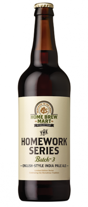 Homework Series Batch No. 3 by Ballast Point Brewing Company in California, United States