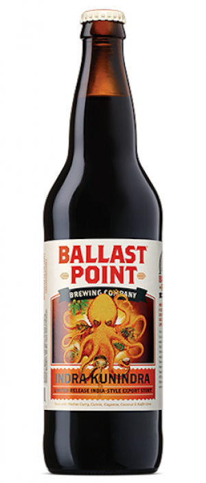 Indra Kunindra by Ballast Point Brewing Company in California, United States