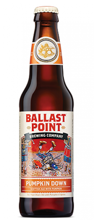 Pumpkin Down by Ballast Point Brewing Company in California, United States