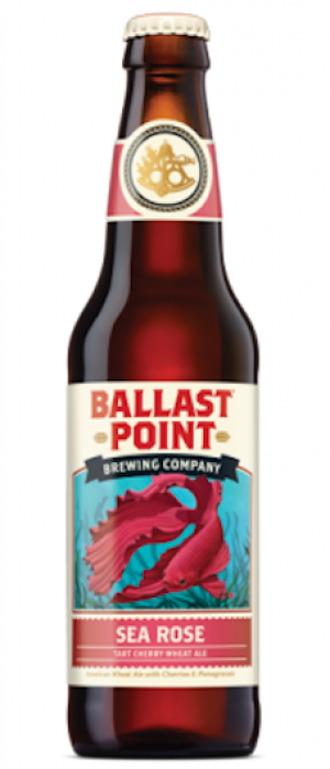 Sea Rose by Ballast Point Brewing Company in California, United States