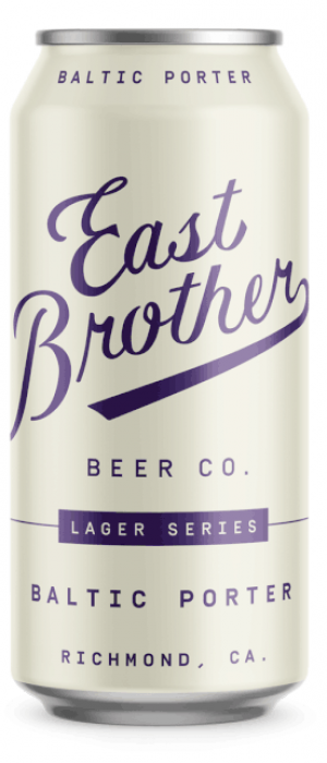 Baltic Porter by East Brother Beer Company in California, United States