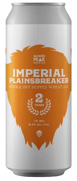 Imperial Plainsbreaker by Banded Peak Brewing Company in Alberta, Canada