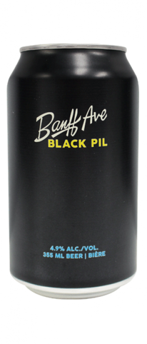 Black Pil by Banff Ave. Brewing Company in Alberta, Canada
