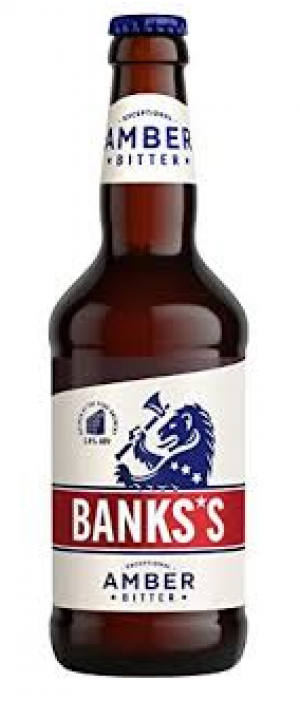 Banks's Amber Bitter by Marston's Brewery in Staffordshire - England, United Kingdom