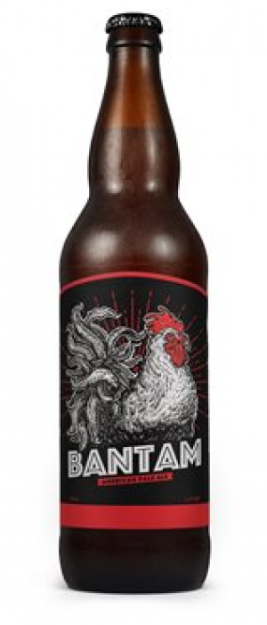 Bantam American Pale Ale by Long Bay Brewery in New Brunswick, Canada