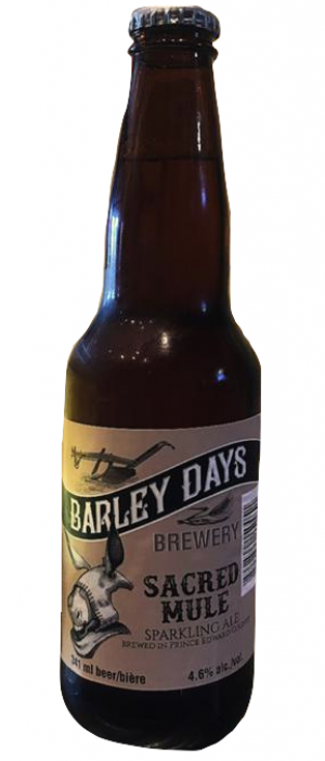 Sacred Mule by Barley Days Brewery in Ontario, Canada