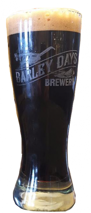 Scrimshaw Oyster Stout by Barley Days Brewery in Ontario, Canada