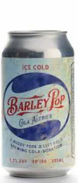 Barley Pop Cola Altbier by Muddy York Brewing Co. in Ontario, Canada