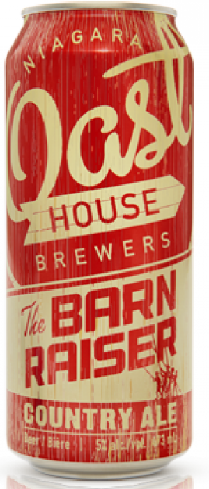 The Barn Raiser Country Ale by Niagara Oast House Brewers in Ontario, Canada