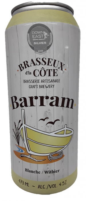 Barram by Brasseux d'la Côte in New Brunswick, Canada