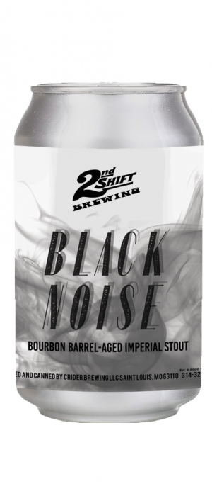 Barrel-Aged Black Noise by 2nd Shift Brewing in Missouri, United States