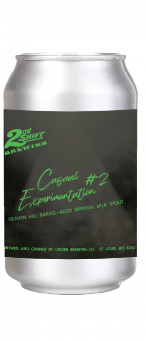 Barrel-Aged Casual Experimentation #2 by 2nd Shift Brewing in Missouri, United States