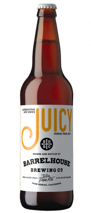 Juicy IPA by Barrelhouse Brewing Company in California, United States