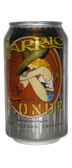 Barrio Blonde by Barrio Brewing Company in Arizona, United States