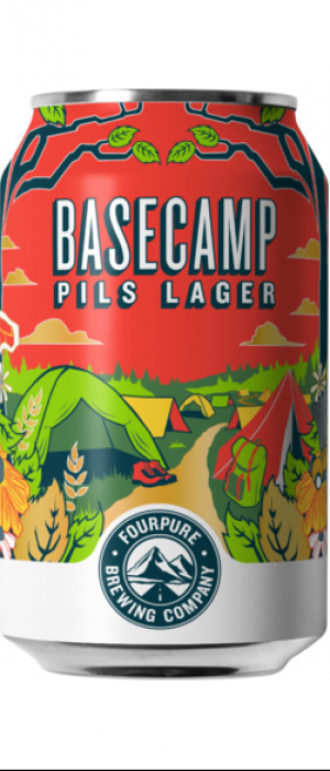 Basecamp by Fourpure Brewing Co. in London - England, United Kingdom