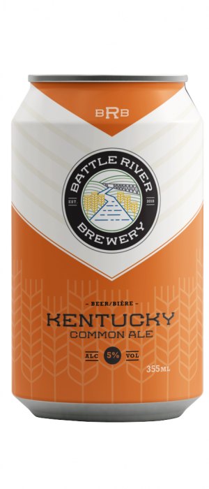 Kentucky Common by Battle River Brewery in Alberta, Canada