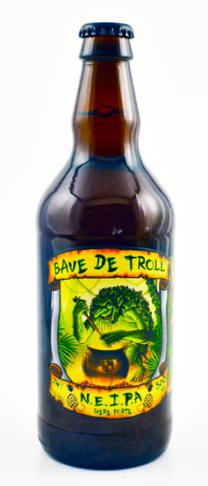 Bave de Troll NEIPA by Microbrasserie Domaine Berthiaume in Québec, Canada