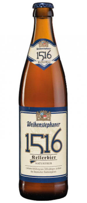 1516 Kellerbier by Bayerische Staatsbrauerei Weihenstephan in Bavaria, Germany