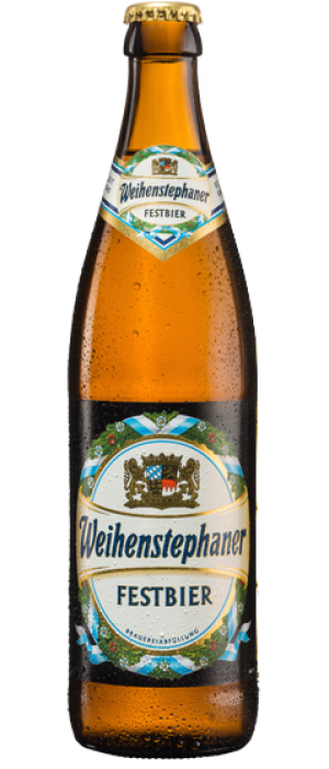 Festbier by Bayerische Staatsbrauerei Weihenstephan in Bavaria, Germany