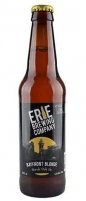 Bayfront Blonde by Erie Brewing Company in Pennsylvania, United States