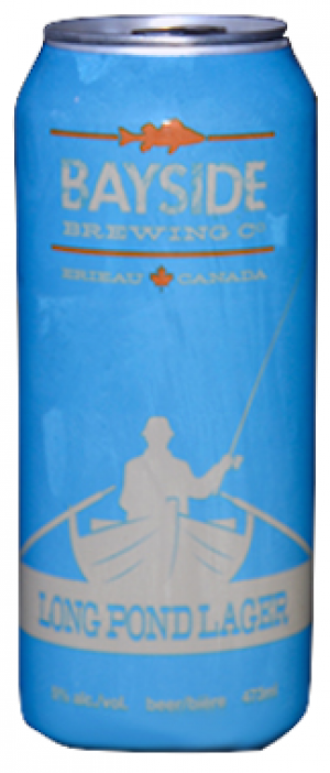 Long Pond Lager by Bayside Brewing Company in Ontario, Canada