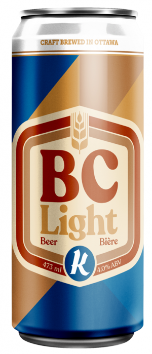 BC Light by Kichesippi Beer Company in Ontario, Canada