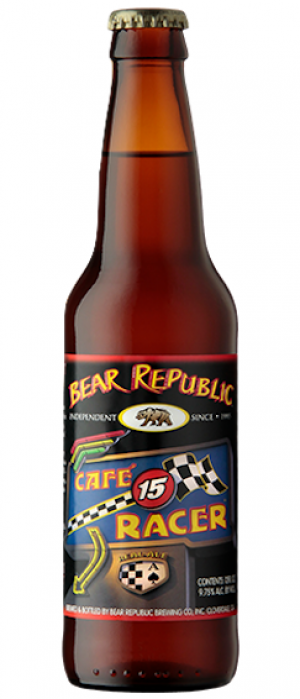 Café Racer 15 by Bear Republic Brewing Company in California, United States