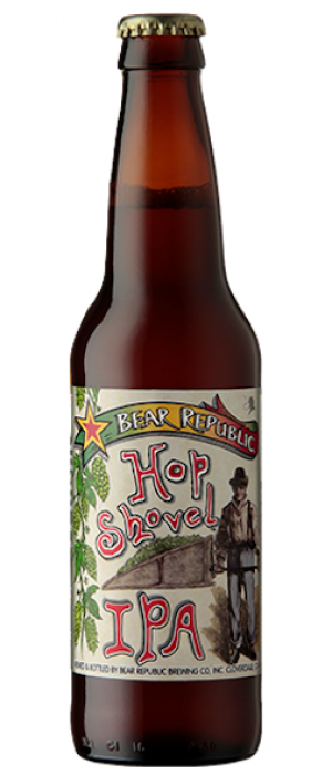 Hop Shovel IPA by Bear Republic Brewing Company in California, United States