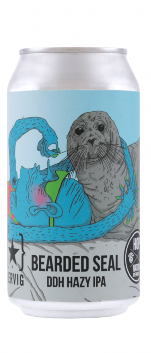 Bearded Seal DDH Hazy IPA by Hop Nation Brewing Co. in Victoria, Australia