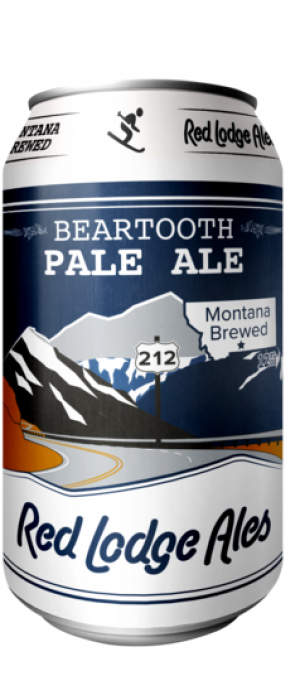 Beartooth Pale Ale by Red Lodge Ales Brewing Company in Montana, United States