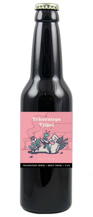 Triceratops Tripel by Beau's in Ontario, Canada