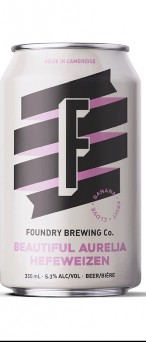 Beautiful Aurelia by Foundry Brewing in Ontario, Canada