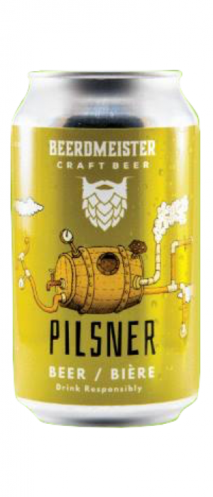 King's Pilsner by BeerdMeister Craft Beer in Alberta, Canada
